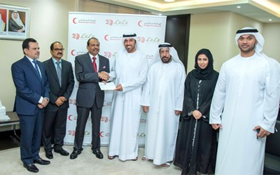 Lulu Group to donate AED 10 million to support Emirates Red Crescent programmes over 10 years