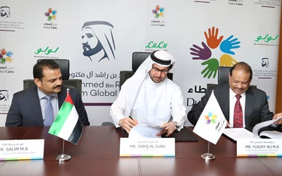 Lulu Group International commits AED 10 million in support of Dubai Cares programs globally