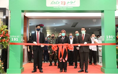 LuLu Group expands further in Indonesia, Opens third Hypermarket